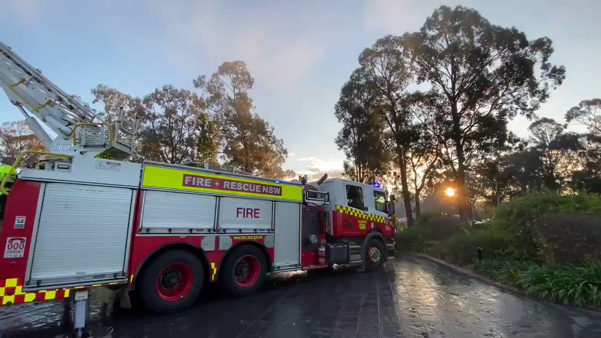 Firefighters have contained a house fire on Fifth Ave, Llandilo which started around 3:30pm on Sunday. All persons have been accounted for, with @nswpolice and #NSWRFS investigating the cause of the fire. Crews will work over coming hours to mop up and overhaul the structure.