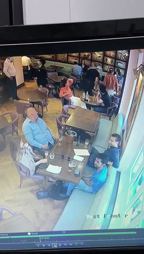 Anything but a SUPER SATURDAY at @BotanistSW1 yesterday where this vile woman was caught on camera pilfering a designer handbag belonging to a friend of mine. Do report perpertrator's name to police if you know who this brazen thief is #SuperSaturday #LockdownLunacy #NameAndShame
