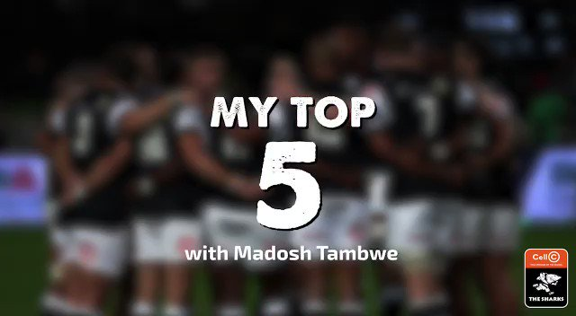 Madosh Tambwe shares his Top 5 music artists with us. Comment who your favourite musicians currently are below⬇️ #OurSharksForever
