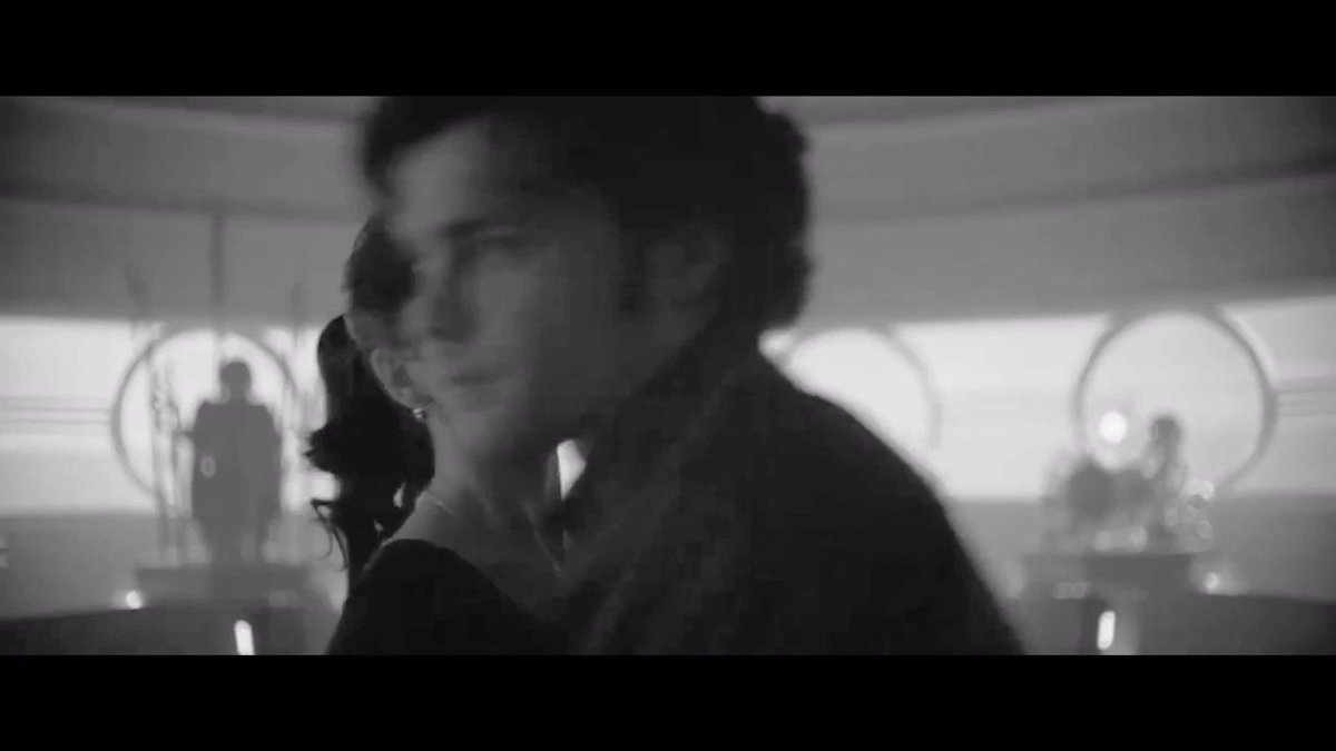 Han & Qira but it's a 50s Romance ❤️🎞  #MakeSolo2Happen https://t.co/ipYA9GODAV