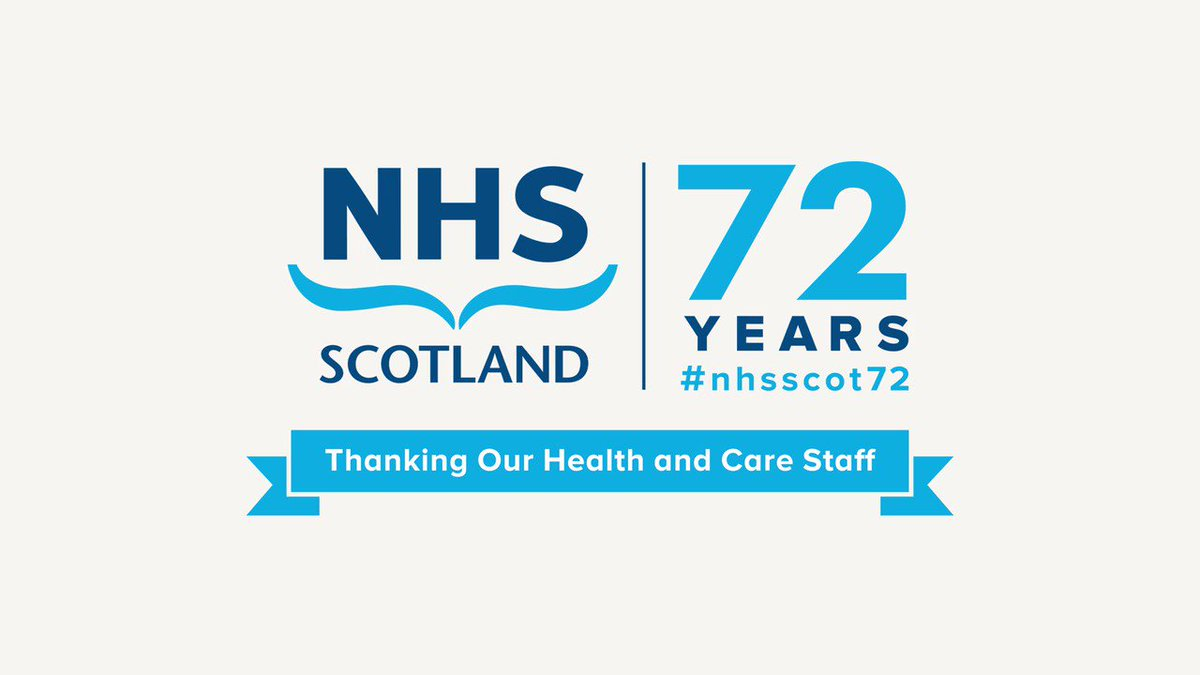 Join us in celebrating the 72nd Anniversary of the NHS! Watch our quick video about the history of the ambulance service and paramedic role in Scotland. Find out more about the roles within the ambulance services team here ow.ly/vu3G50AoSec #nhsscot72 @Scotambservice