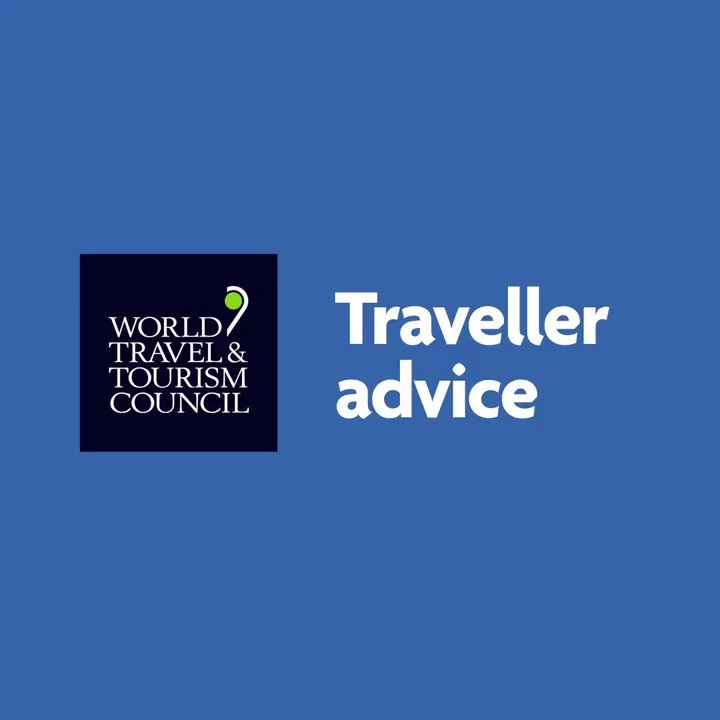 During these times, keep protecting yourself and others around you following the recommendations from @WTTC  ✔️ 😷  Wear a mask  ✔️ 👐 Wash your hands frequently ✔️ 🚻 Maintain physical distancing  #TravellerAdvice #SafeTravels https://t.co/dsaPdAY2Yp