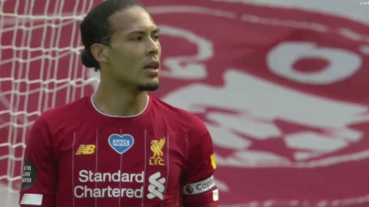 Virgil Van Dijk vs. Aston Villa (h) 19/20