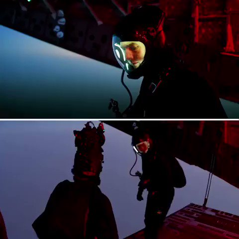 The skydiving scene from Mission Impossible 6 (top), and how they filmed it (bottom) 😮 reddit.com/r/PraiseTheCam…