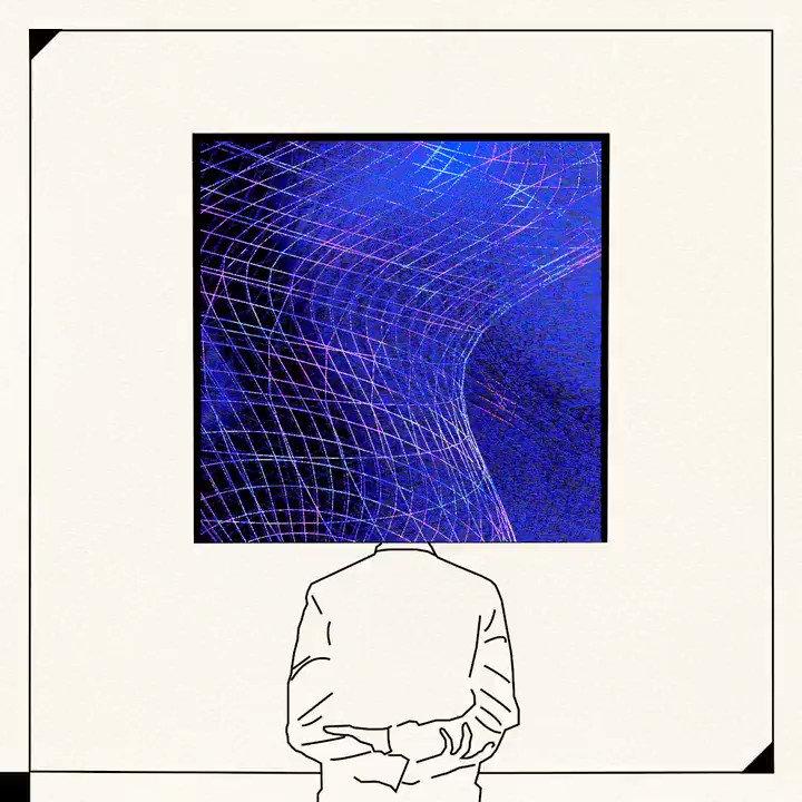 """Image for the Tweet beginning: """"feel human 2""""  #touchdesigner #newmediaart #codeart"""