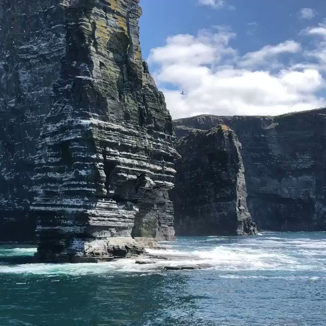 Image for the Tweet beginning: Check out the iconic Cliffs