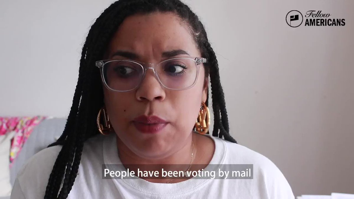 Voting by mail isn't anything new!