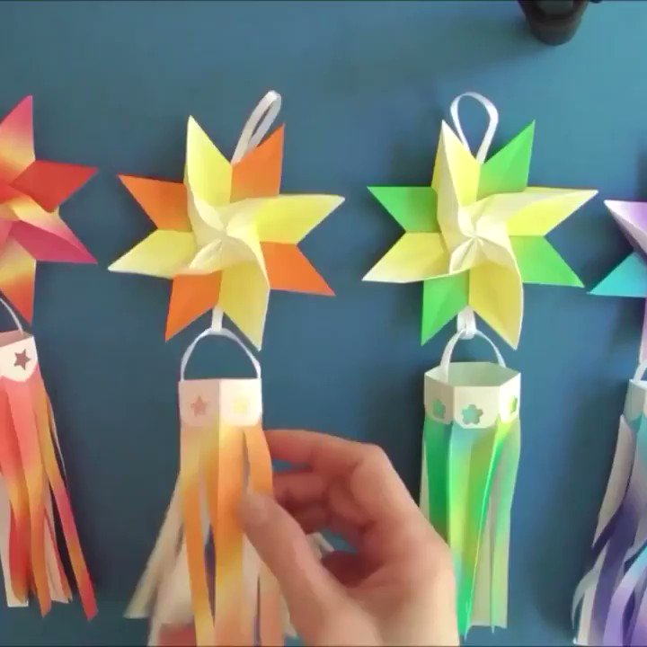 Get into the spirit of Tanabata (#七夕), the Japanese festival of stars, with this origami star tutorial  → https://t.co/zhMkSH0ebJ https://t.co/8OhJoLG5jw