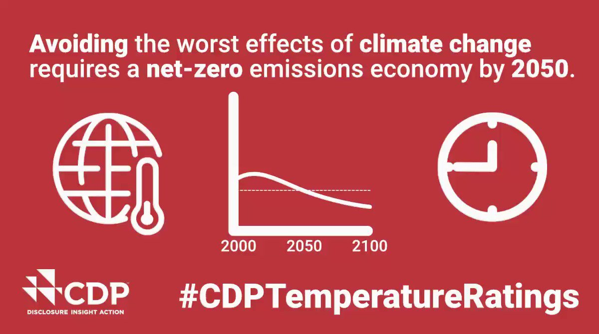Investors want to avoid getting into hot water as a result of climate change. #CDPTemperatureRatings tracks carbon emissions from across the value chain of more than 4,000 companies to help investors understand where and where not to invest: bit.ly/CDPratings @CDP