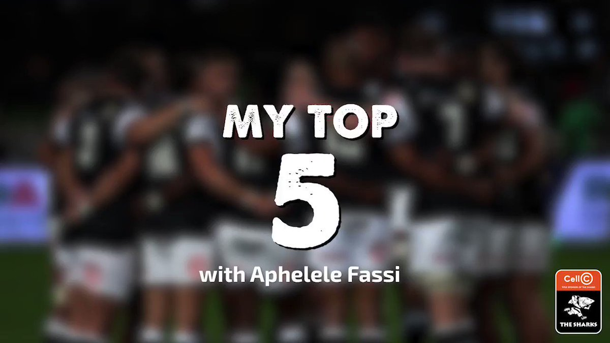 Aphelele Fassi shares his Top 5 songs at the moment with us. Comment the names of some your favourite songs below⬇️ #OurSharksForever