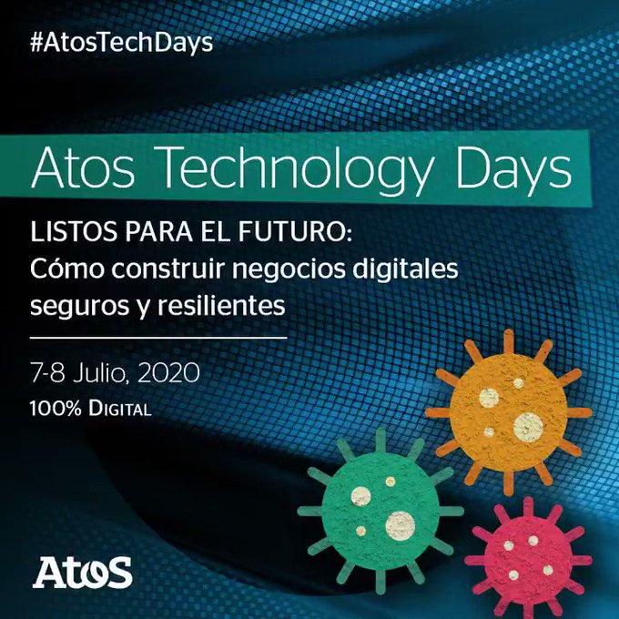 Este año los #AtosTechDays se transforman a un formato 100% digital 👩💻👉 Bajo...