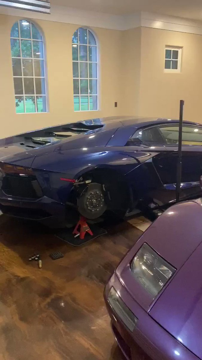 Wow my purple car from 17 years ago I never knew who got it... you kept it in good condition👏🏾