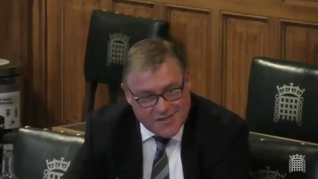 Mark Francois to Britains top general: Cummings is gonna come down and sort you out his own way and you wont like it Confirming the country is under the control of an unelected dictator.