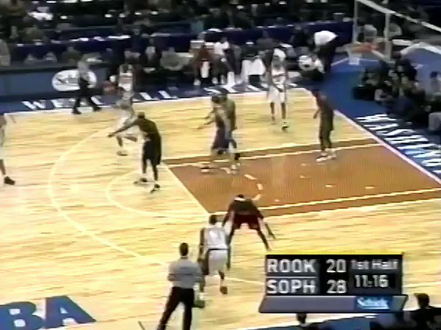 (2001) Missed the bucket, but this move by Francis was filthy. H/T: @Hoopmixtape