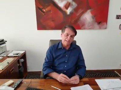 RT @GondimFernanda: Presidente acabou de postar esse vídeo @jairbolsonaro Mito 🇧🇷🤝 https://t.co/nWUxlNxfjg