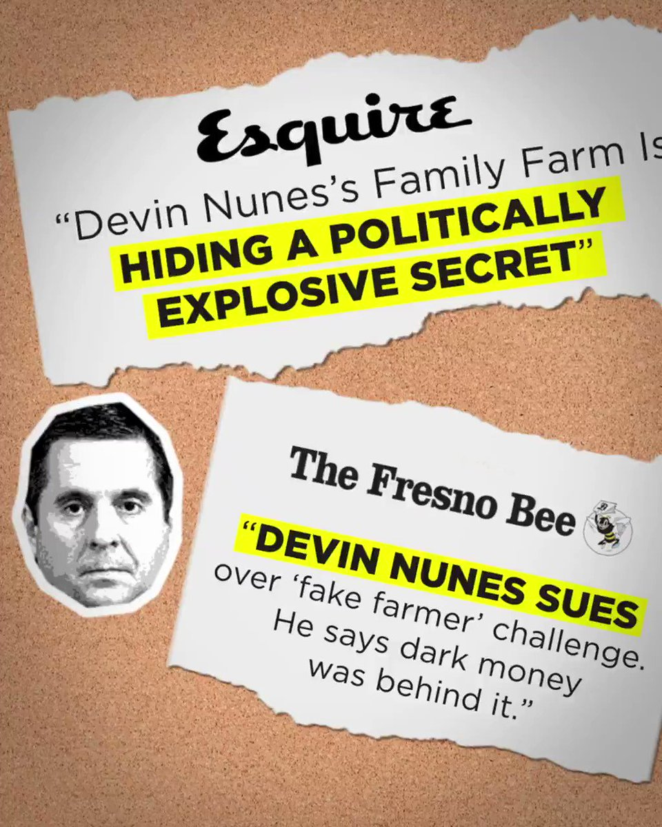 Devin Nunes lost in court, again.  If you want to make sure he loses his seat in Congress, retweet and spread the word about our grassroots campaign.