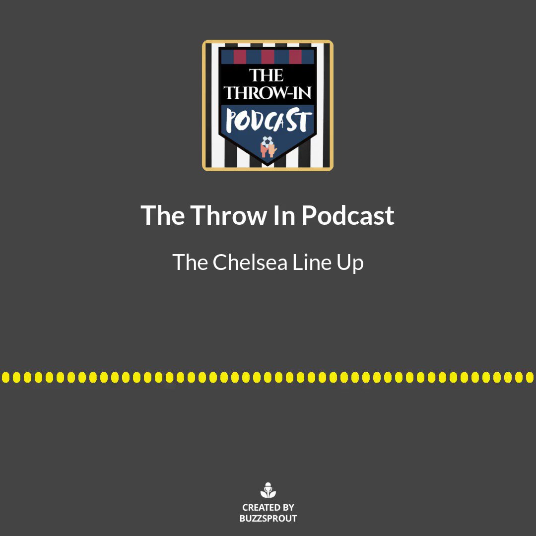 I've always wanted to be a stadium announcer. For example, here's how I would have announced the Chelsea team last night. @ThomasJamesGray #Chelsea #CHECRY #EPL #throwinpod https://t.co/N3rrFnVilS