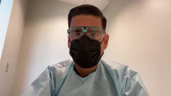 """I received this video by email today. The subject line read: """"Puertorican Doctor in Orlando FL. Help me spread the word: Wear a mask."""" Watch it.  It's powerful.  Dr. Will Felix, Sports Medicene/E.R. Doctor, working in Orlando https://t.co/HQW6dQHflf"""