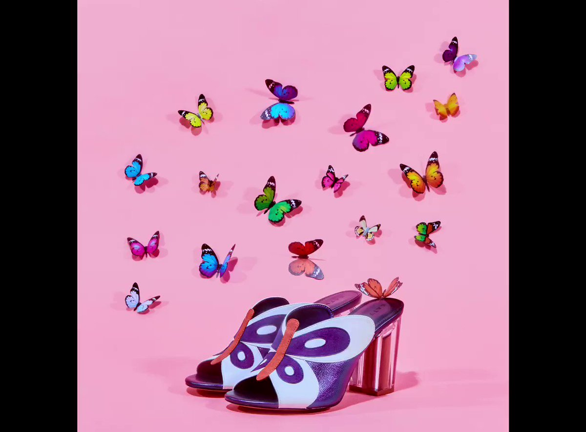 Anyone else going through a rebirth rn?! 🦋🙂 don't forget that 10% from the sale of every shoe and handbag from the @kpcollections website will go to @pointfoundation to support their efforts in empowering more BIPOC LGBTQ+ students #shoesdaytuesday