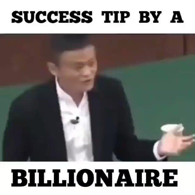 Success tip by a billionaire Jack Ma. #tech #entrepreneur #success #startups #marketing