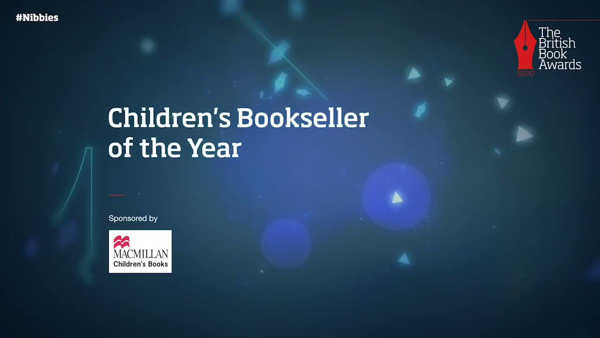 The magnificent @moonlaneink triumphed at the 2020 #Nibbies, winning the Childrens Bookseller of the Year title! A beautiful bookshop, with a passion for raising equality in childrens books! Thank you to @MGLnrd @samuelsedgman for your BRILLIANT presenting @MacmillanKidsUK