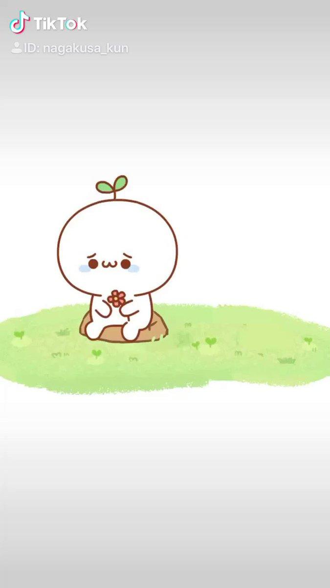 悲しい時はぼくがなでなでする🌱少しは元気が出るかな?(꜆꜄•௰•)꜆꜄꜆#長草くん#TikTok