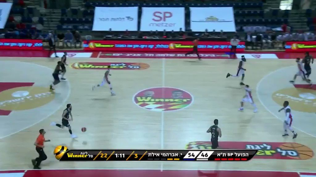 He had his ups and downs offensively vs Eilat (12 PTS + 3 AST on 4-for-14 from the field) but this type of defensive fight is one of the reasons Yam Madar is such an interesting long-term prospect. Plays much bigger than his measurements suggest thanks to his toughness and fire. https://t.co/W3R3t9rXZt
