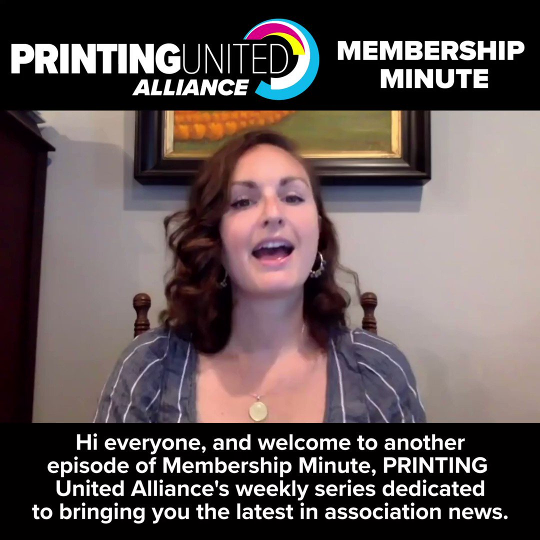 Image for the Tweet beginning: It's time for PRINTING United