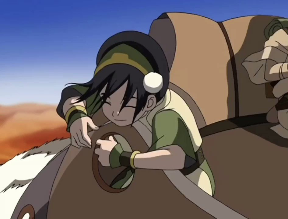 toph blind jokes for two minutes straight