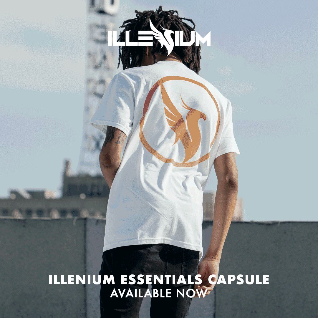 New items on the merch store 🙂 Illenium.com/merch