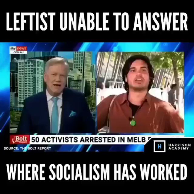 Where has socialism worked? 🤣🤣🤣