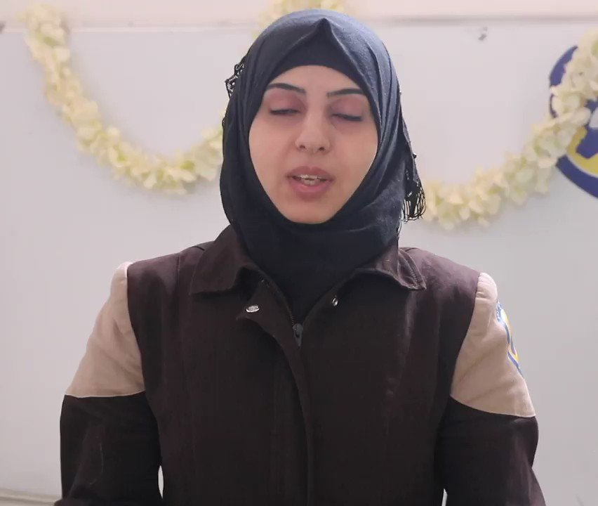 A message from our White Helmet Manal, to the families of the victims who lost their lives under torture, and the families of the detainees, and to the international community. #NotHostages #Syria https://t.co/GH6drysXEi