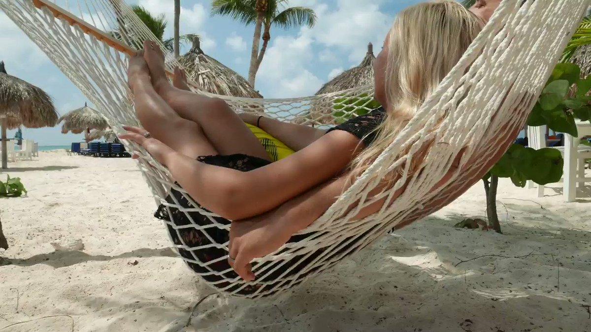 Relax in paradise with your special person. ☀️ #DiviBreak  Pictured: Divi Phoenix Beach Resort, Aruba #DiviResorts #aruba #onehappyisland #beach #relax #caribbean
