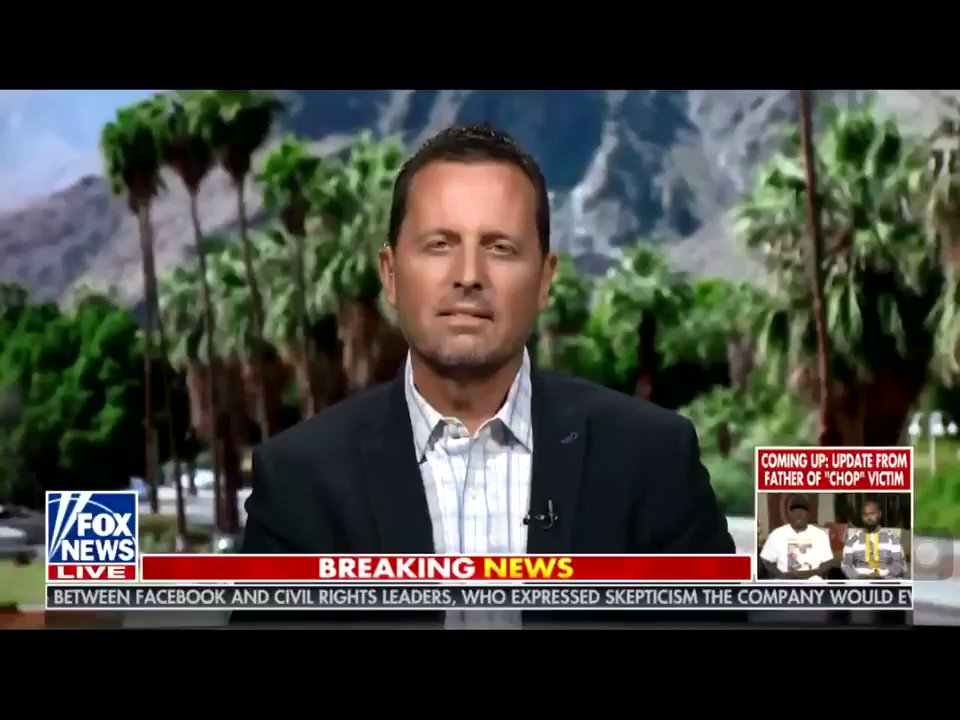 .@RichardGrenell says The Obama administration was not a team That's getting ready to hand off a peaceful transition of power. This was a team That was surprised they lost and was looking for another plan. @SidneyPowell1