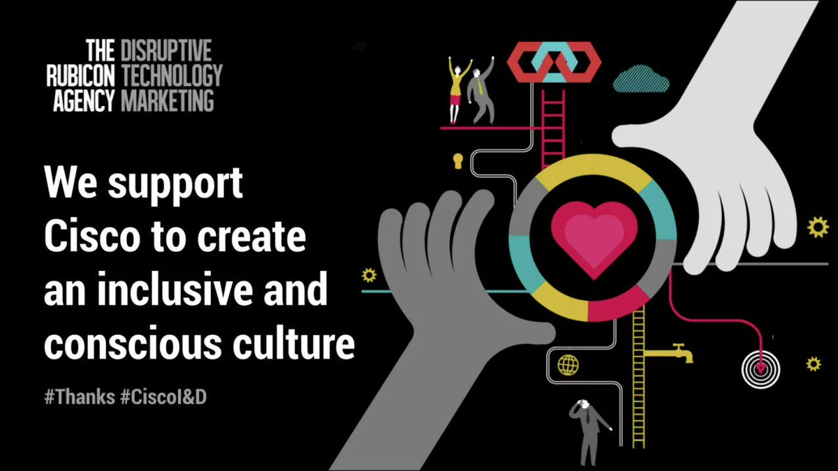 Supporting Cisco to create an inclusive and conscious culture. #Thanks celebrates some of the challenges we tackle for and with our clients. #TechMarketing #Inclusion #Diversitypic.twitter.com/FqtjdKB0RG