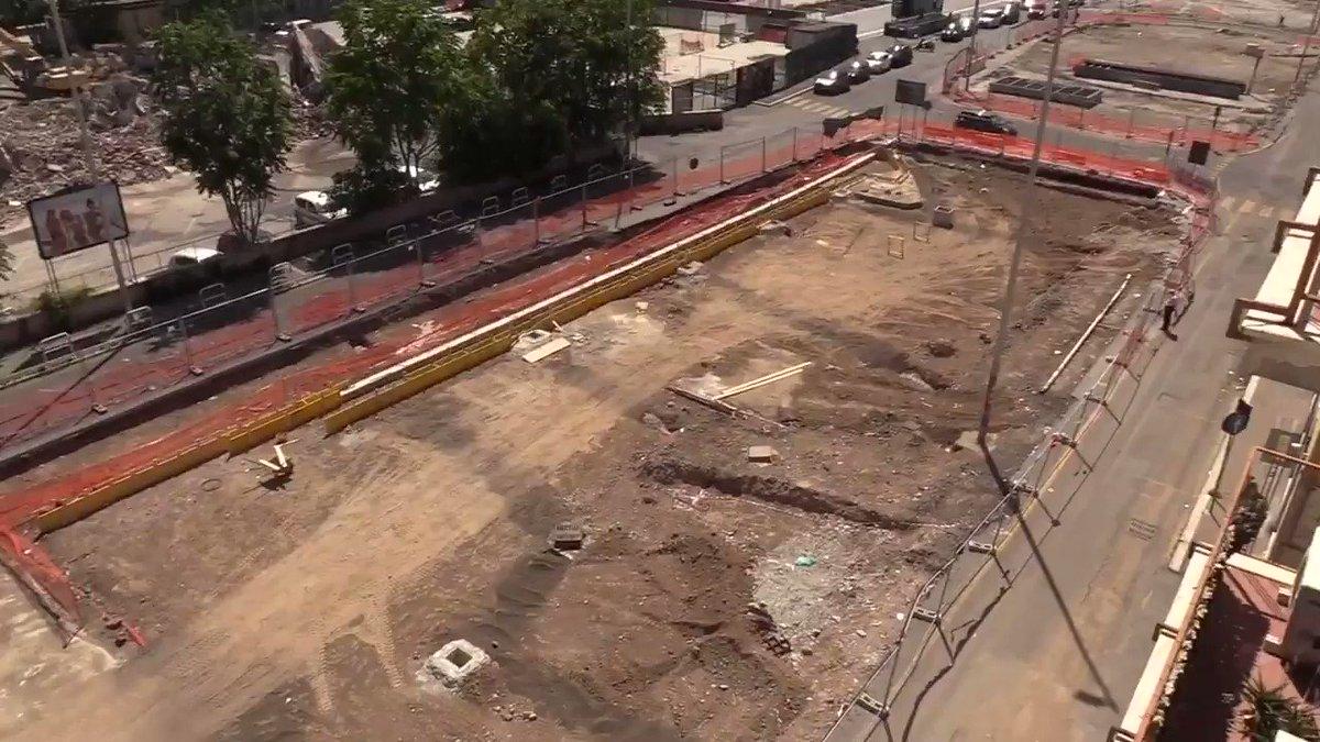 Oggi vi voglio raccontare come stanno procedendo i lavori del cantiere per la riqualificazione del Piazzale Ovest, davanti alla stazione, che vanno avanti secondo il cronoprogramma del Dipartimento Lavori Pubblici: bit.ly/2DpwPUy