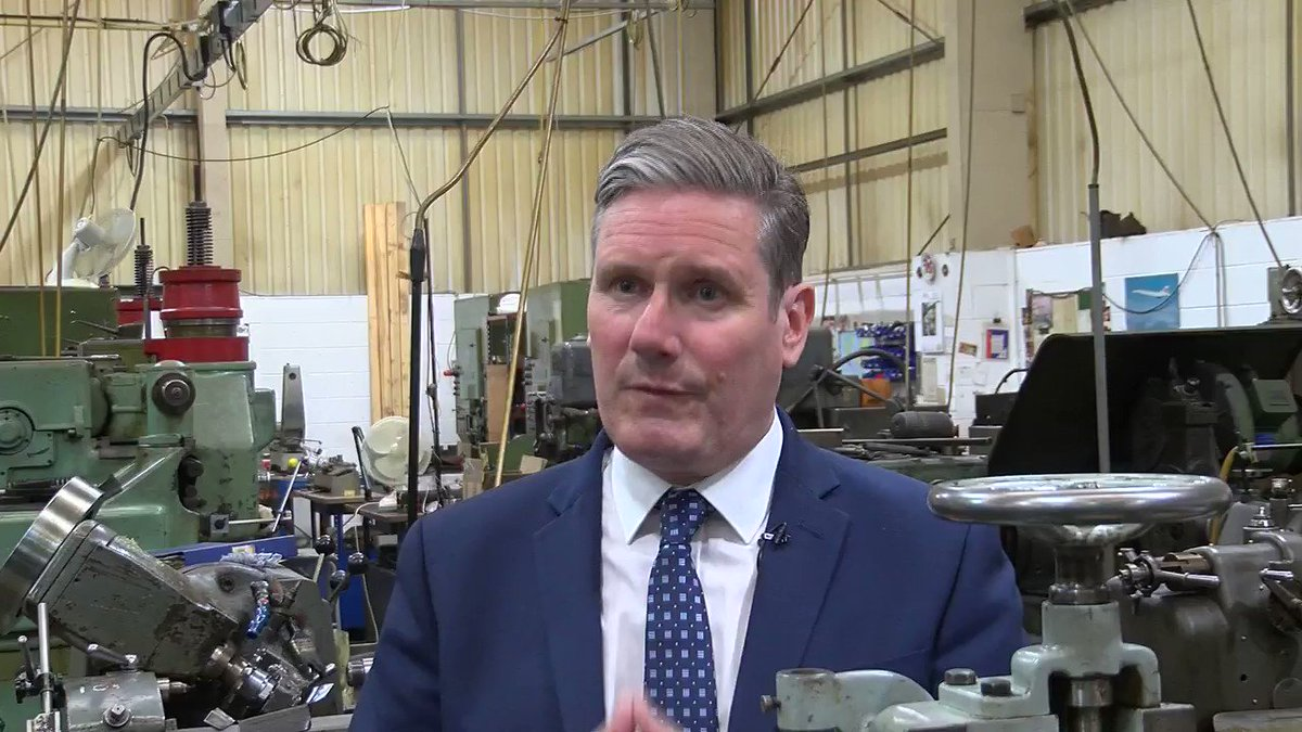 """Labour Leader @Keir_Starmer says the number of people out of work in Essex and Harlow """"is really concerning"""" and says the government has a """"scatter gun approach"""" to support. He tells Political Reporter @SiDedman the government should be more """"flexible"""" with furlough. 📺👇"""
