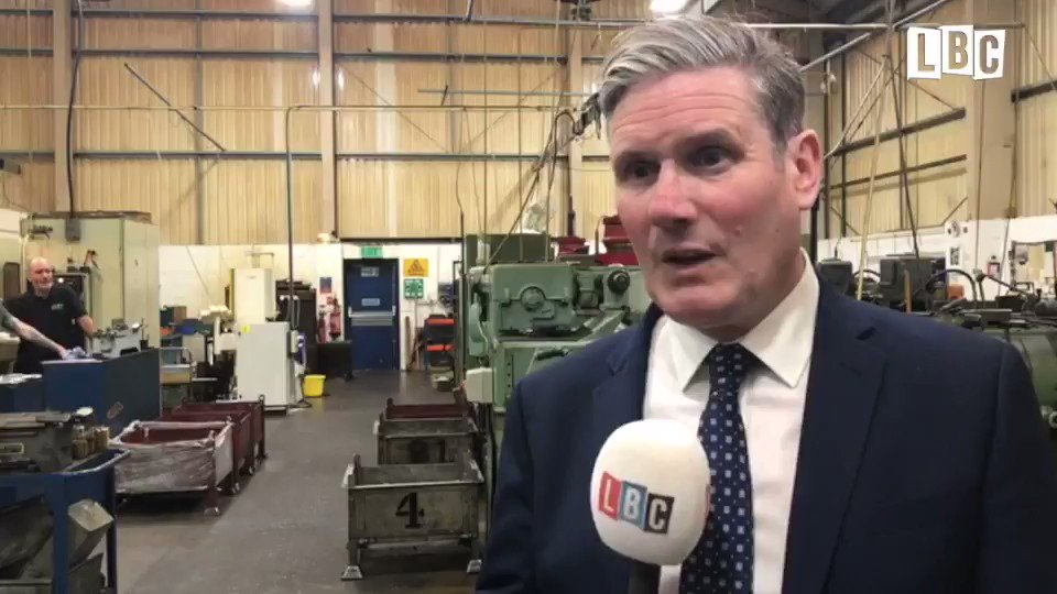 On a visit to the @BeardandFitch factory in #Harlow this morning, Labour Leader @Keir_Starmer told us The really important thing now is not the price of a meal, or the price of a voucher, its whether people have the confidence to come out #HeartNews