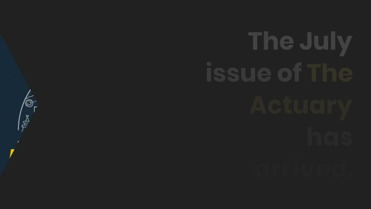 Check out this month's @TheActuaryMag, where new IFoA President @tansueechieh discusses his vision for the actuarial profession: https://t.co/nDoi0LKAhn https://t.co/yAnfOEnppI