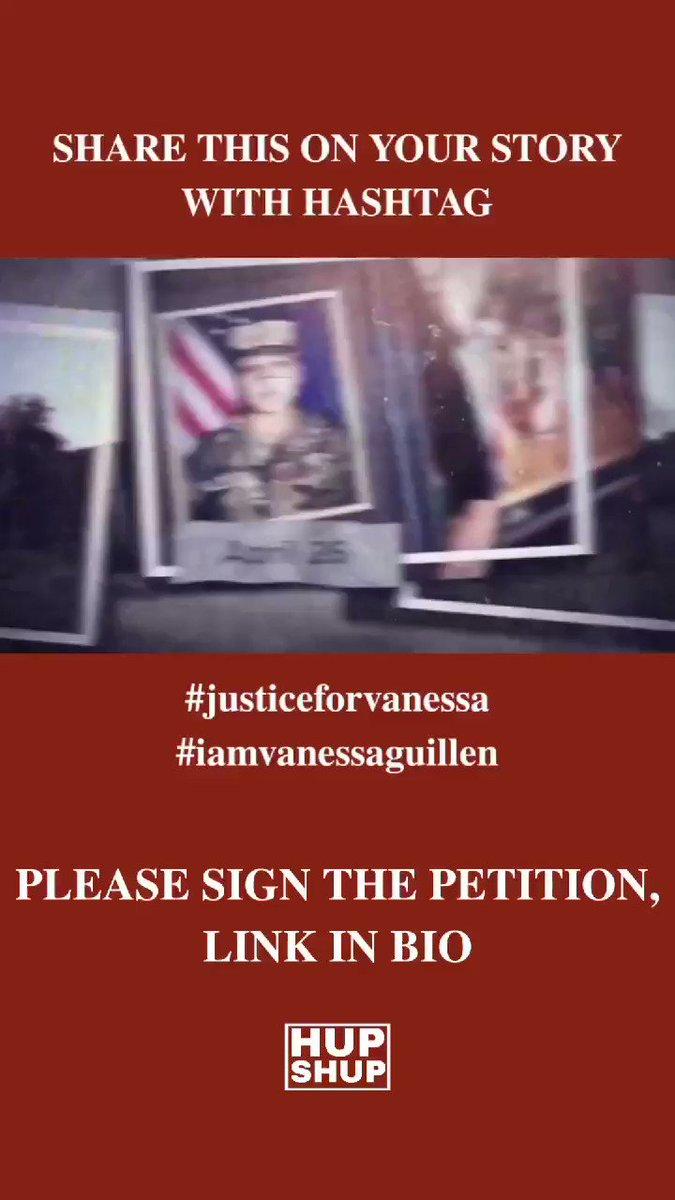PLEASE SIGN THE PETITION    #vanessaguillen #imvanessaguillen #justiceforguillen #guillen #metoo #usmilitarymetoo #justiceforvanessa #justiceforvanessaguillen