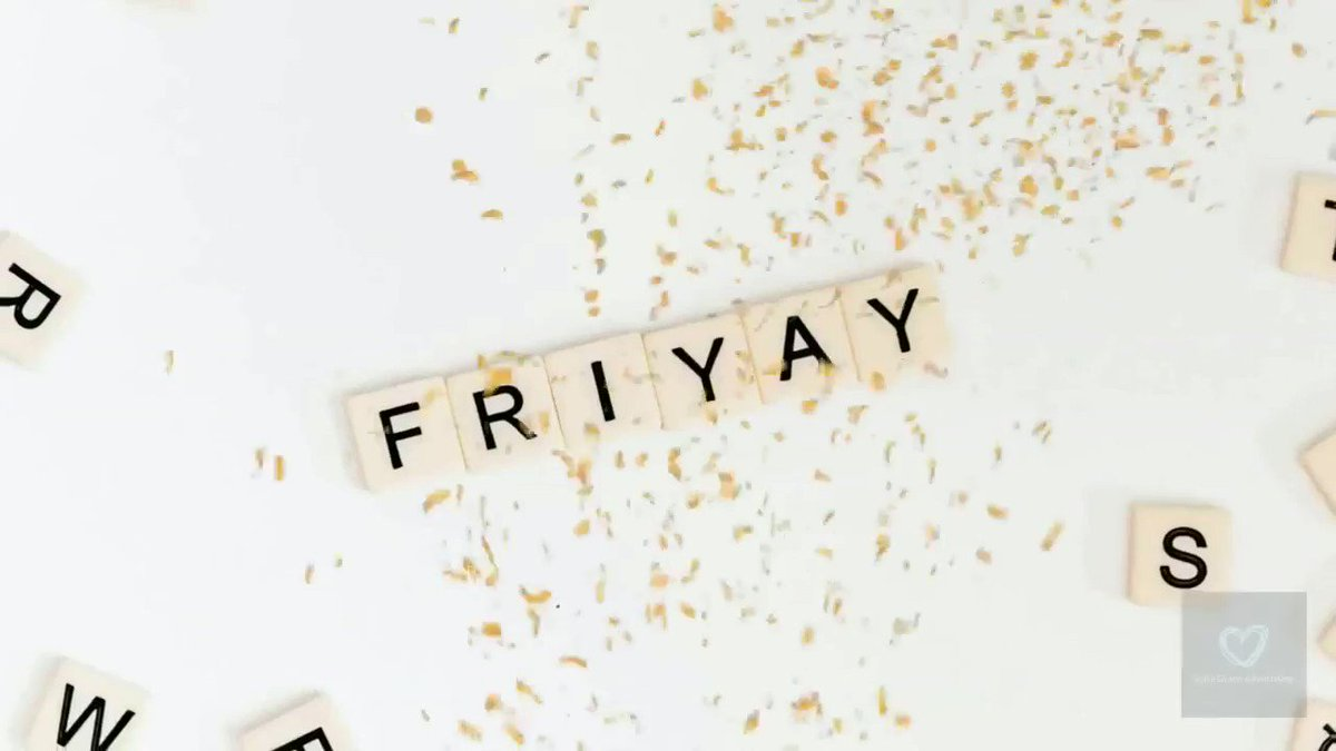 Use this great video to celebrate #friyay on social media #1pmchat    Upload your own logo and tagline and download instantly £5 or bundle available £55 for 31 videos  #friday #love #fashion