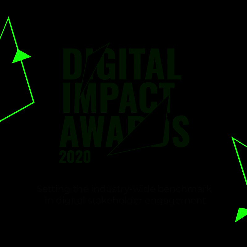 Image for the Tweet beginning: The Digital Impact Awards have