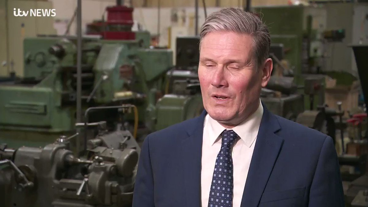 Our concern is that the action they have taken isnt focused on the right places. While on a trip to Essex, Sir Keir Starmer criticised the governments newly announced furlough bonus scheme. More here: itv.com/news/anglia/20…
