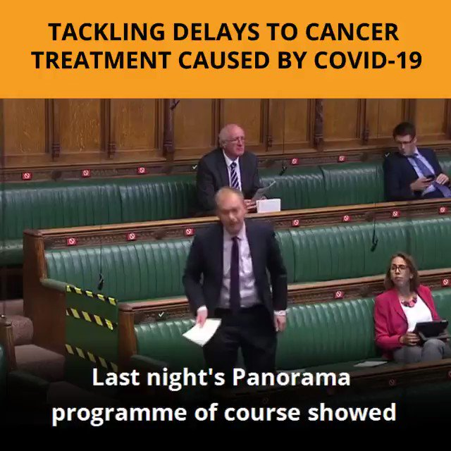 Grateful to the Health Secretary for agreeing to meet with our APPG on radiotherapy to discuss our six-point plan to save lives being lost in the cancer backlog.  Cancer patients must not be forgotten about during this crisis.  @APPGRT @RTherapy4Life @prof_price @ProfKarolSikora https://t.co/IgdAzGJZYJ