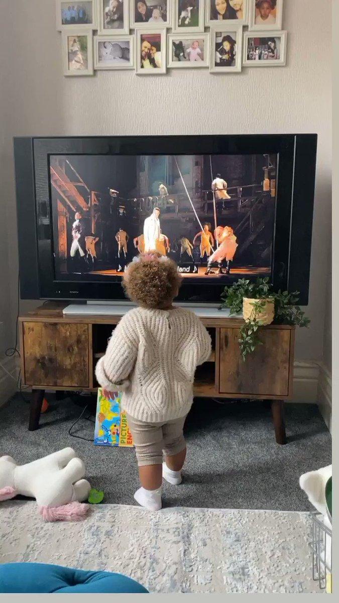#HamiltonFilm I think she's into it...