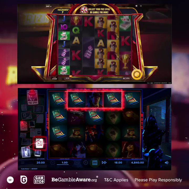 This week we decided to make it super hard for you to pick a side in our #slotbattle.  Tell us which one do you prefer:  Captain Rizk Megaway by @RedTigerGaming: https://t.co/dpjQ78JCw4 Cash Noir Slot by @NetEntOfficial: https://t.co/XK2wTd8zbC  #AskGamblers #slots #onlineslots https://t.co/QziLEXnr5c