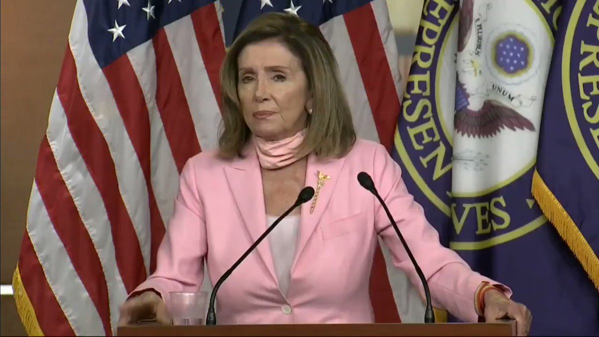 ".@SpeakerPelosi makes it clear on where she stands, ""I don't care that much about statues."""