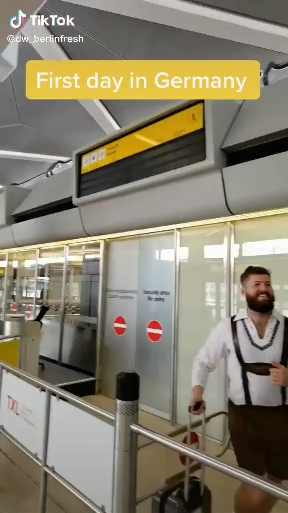 First day back in Germany! Here is one of the funniest video we've seen for quite a while. Have you ever made the same mistake?