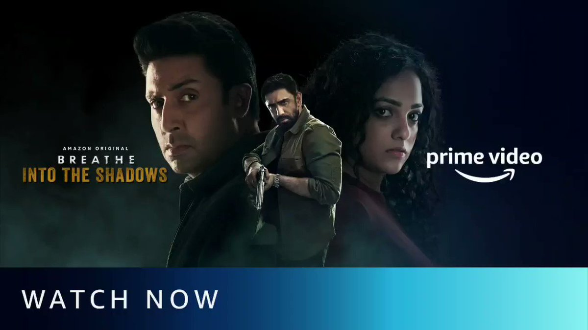 In a chase against time, who will win this game of life and death? #BreatheIntoTheShadows Watch Now: amzn.to/BITSt @PrimeVideoIN @BreatheAmazon @juniorbachchan @TheAmitSadh @SaiyamiKher @mayankvsharma @vikramix @Abundantia_Ent