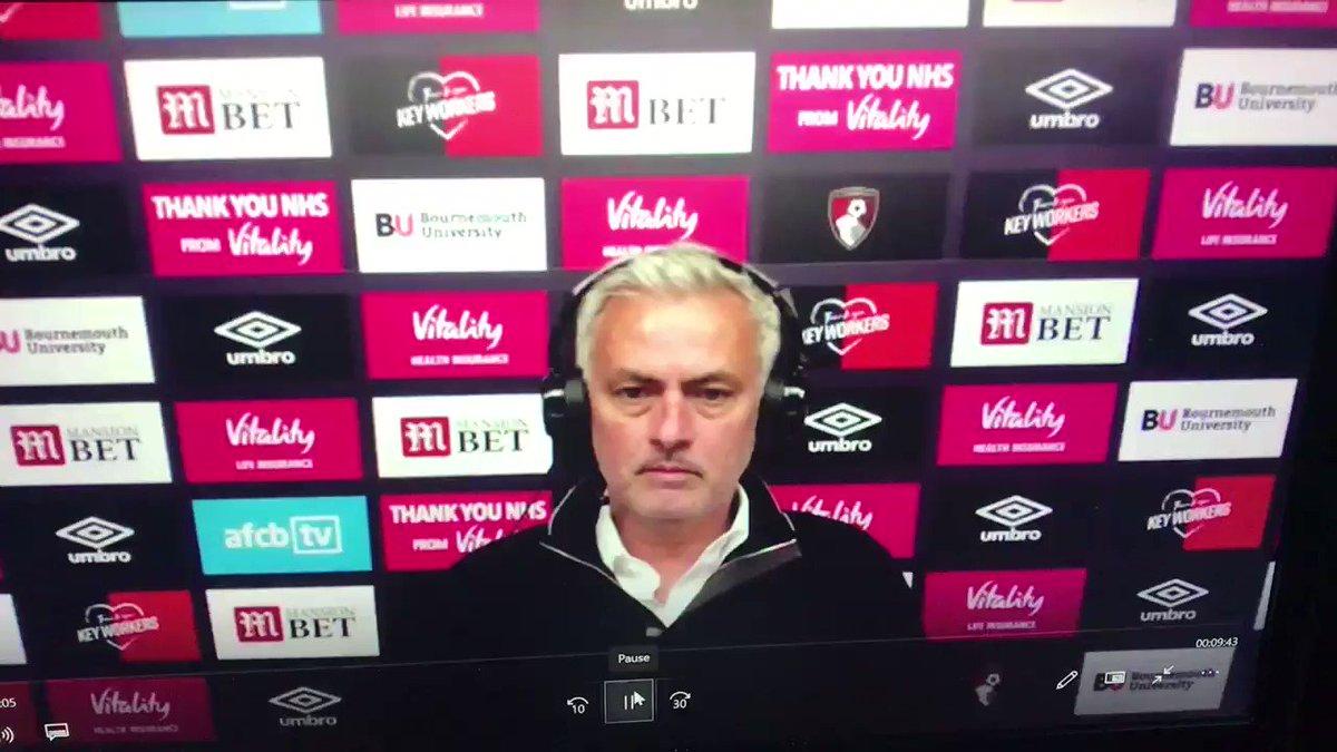 @AlasdairGold's photo on Mourinho